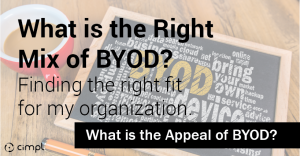 What is the right mix of BYOD_EN-01